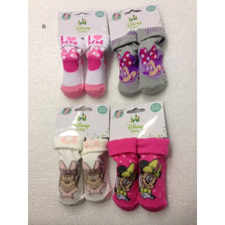 Lot de 4 chaussettes MINNIE MOUSE BABY