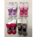 Lot de 4 paires de chaussettes disney MINNIE MOUSE BABY