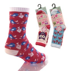 Lot de 3 chaussettes Love birds