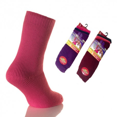 Lot de 3 chausettes anti-froid THERMAL