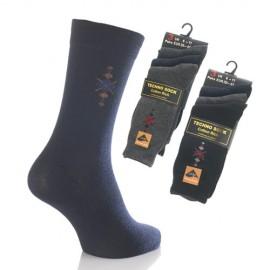 Lot de 3 chaussettes TECHNO ARGYLE