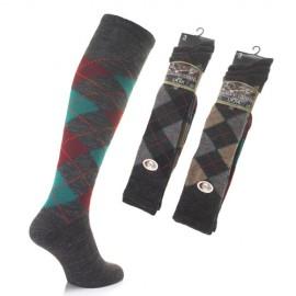 Lot de 3 paires de chaussettes hautes en laine LAINER