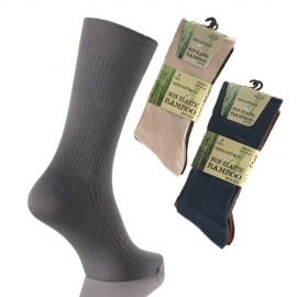 Lot de 3 paires de chaussettes Bambou sans elastique