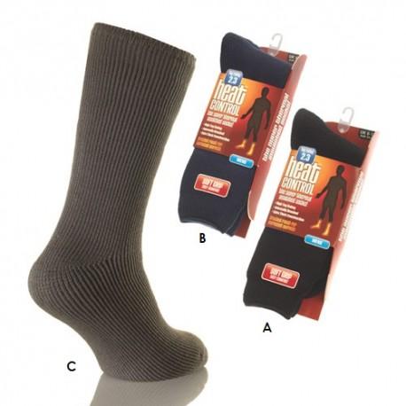 Lot de 2 chaussettes thermiques  HEATER