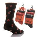 Lot de 3 paires de chaussettes motif cerises CHERRY