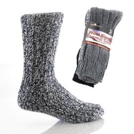 Lot de 3 paires de chaussettes en laine MOSCOW