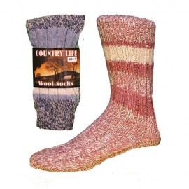 Lot de 3 chaussettes en laine COUNTRY