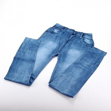 Legging Fin imitation Jean délavé STAR