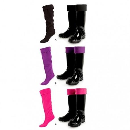 Chaussettes hautes pour bottes de pluie