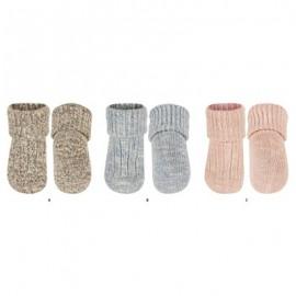 Chaussettes bébé grosse maille coton
