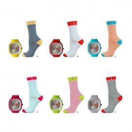Pack chaussettes et montre WATCH MY SOCKS