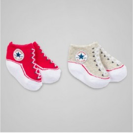 Lot de 2 paires de chaussettes CONVERSE ALL STAR BEBE