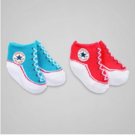 Lot de 2 chaussettes CONVERSE ALL STAR BEBE
