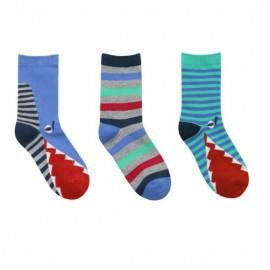Lot de 3 paires de chaussettes enfant CROCRODILES