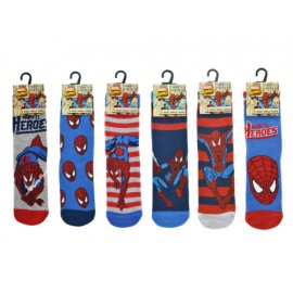 Chaussettes enfant spiderman super hero marvel