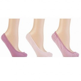 Lot de 3 paires de chaussettes invisibles JENNIFER ANDERTON
