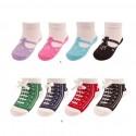 Coffret cadeau 4 paires de chaussettes pour bébé