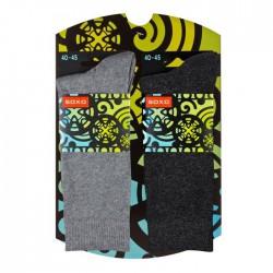 Pochette cadeau 2 paires de chaussettes pour homme