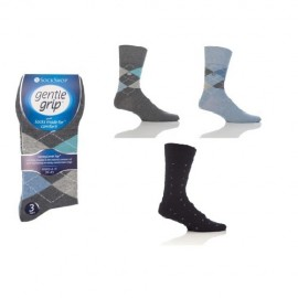 Chaussettes sans élastiques pour homme