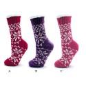 Chaussons hauts anti-dérapants SNOWFLAKES pour femme