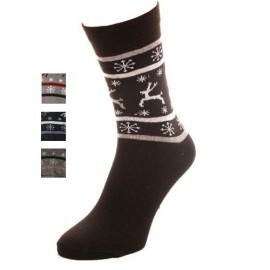 Coffret 6 paires de chaussettes pour homme motif NOEL