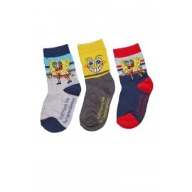 Lot de 3 paires de chaussettes BOB L'EPONGE