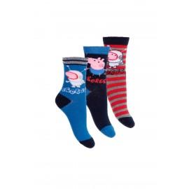 Lot de 3 paires de chaussettes PEPPA PIG