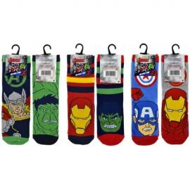 Lot de 6 paires de chaussettes MARVEL AVENGERS