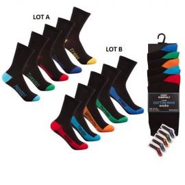 Lot de 5 paires de chaussettes enfants JOURS DE LA SEMAINE
