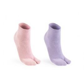 Lot de 2 paires de chaussettes japonnaises pour tongs