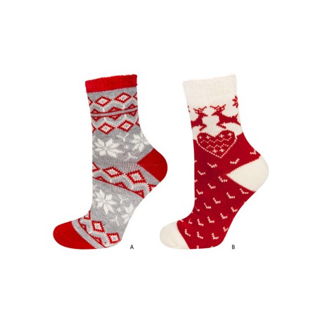 chausettes noel thermiques