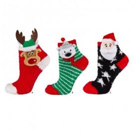 Chaussettes noel  anti-dérapants pour enfants