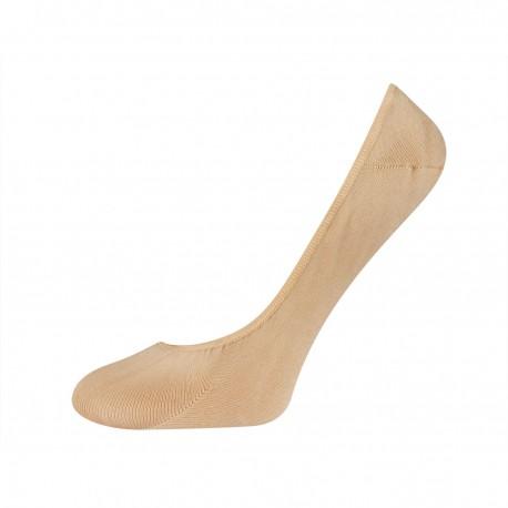 chaussettes invisibles couleur chair pour femme
