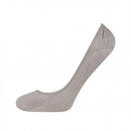 chaussettes invisibles gris pour femme