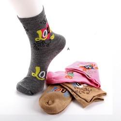 Lot de 3 chaussettes LOVE LINE