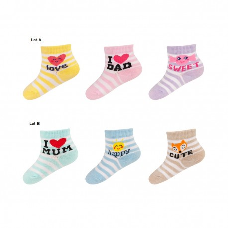 chaussettes pour bebe extensibles