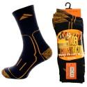 Lot de 3 paires de chaussettes renforcées pour travail CONSTRUCTION