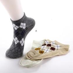Lot de 3 paires de chaussettes courtes socquettes SMART