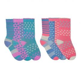 Lot de 6 paires de chaussettes pour filles