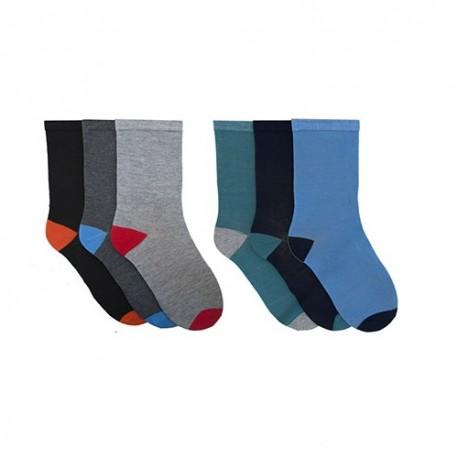 Lot de 6 paires de chaussettes pour garçons