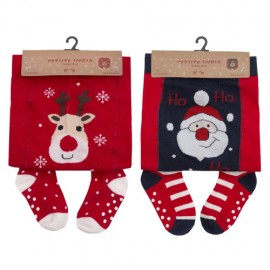 Lot de 2 collants bébé NOEL