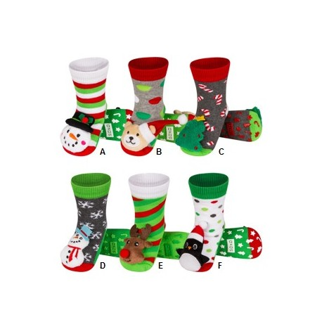 chaussons chaussettes pour bebe pour noel. Black Bedroom Furniture Sets. Home Design Ideas